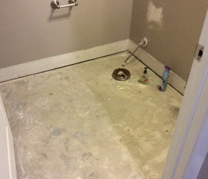 Flooded Flooring in Hyde Park Before