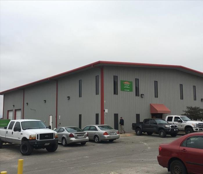 SERVPRO of Hyde Park / Central Austin has expanded their Office / Warehouse