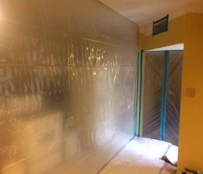 Mold Containment is a Critical part of the Job