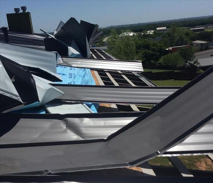 Heavy Winds and Storms Cause Severe Roof Damage